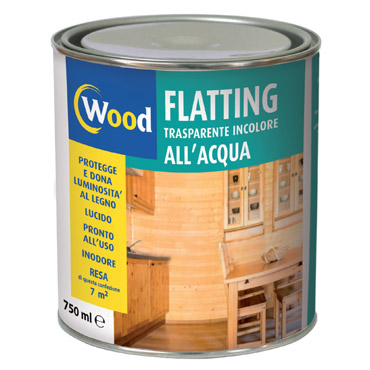 WOOD flatting trasparente all acqua
