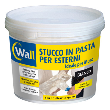 WALL stucco in pasta per esterni